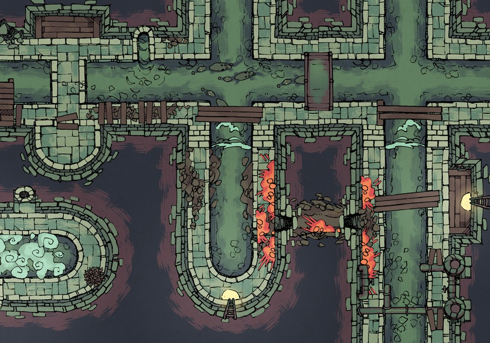 Sewer Map Assets, Preview 3