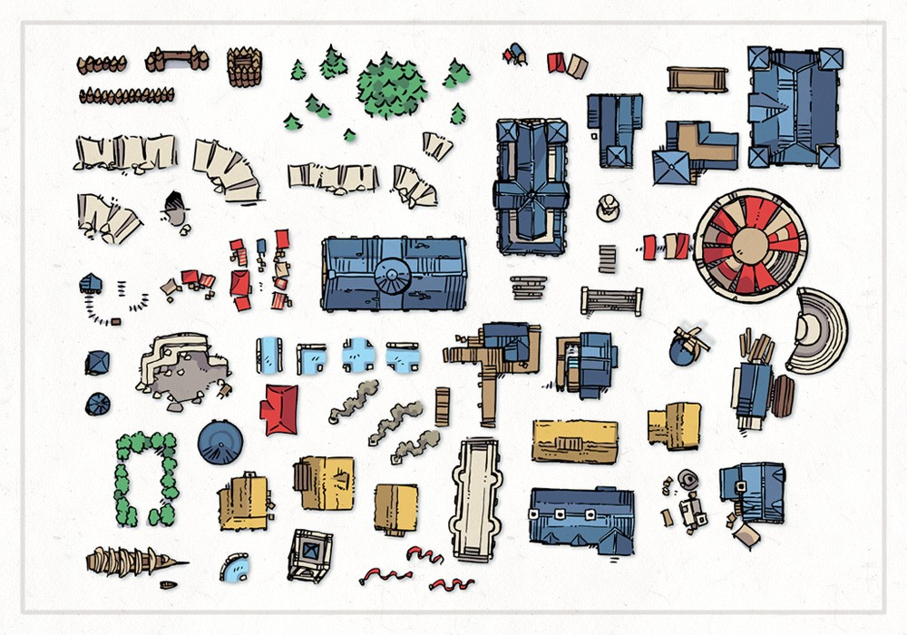 Wonderdraft Town & City Map Assets Pt.3, preview