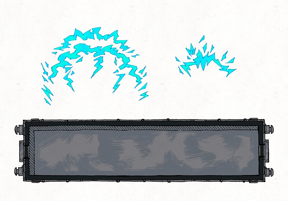 Lightning Rail & Train Map Assets, train car base