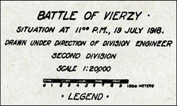 Soissons — The Battle of Vierzy