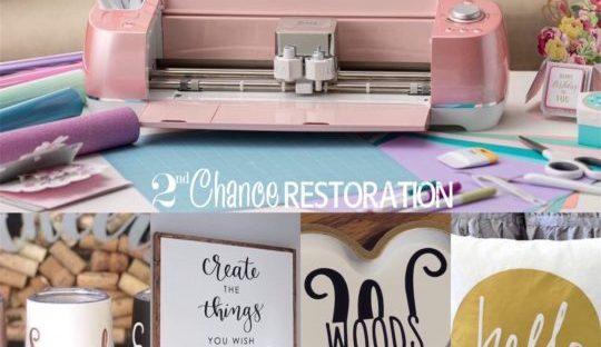Cricut 101 05/29/2019 – 2nd Chance Restoration