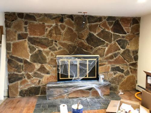 fireplace Capra Before