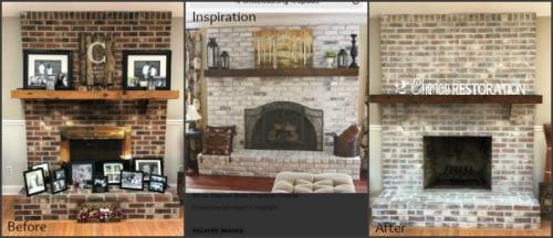 fireplace erika collage