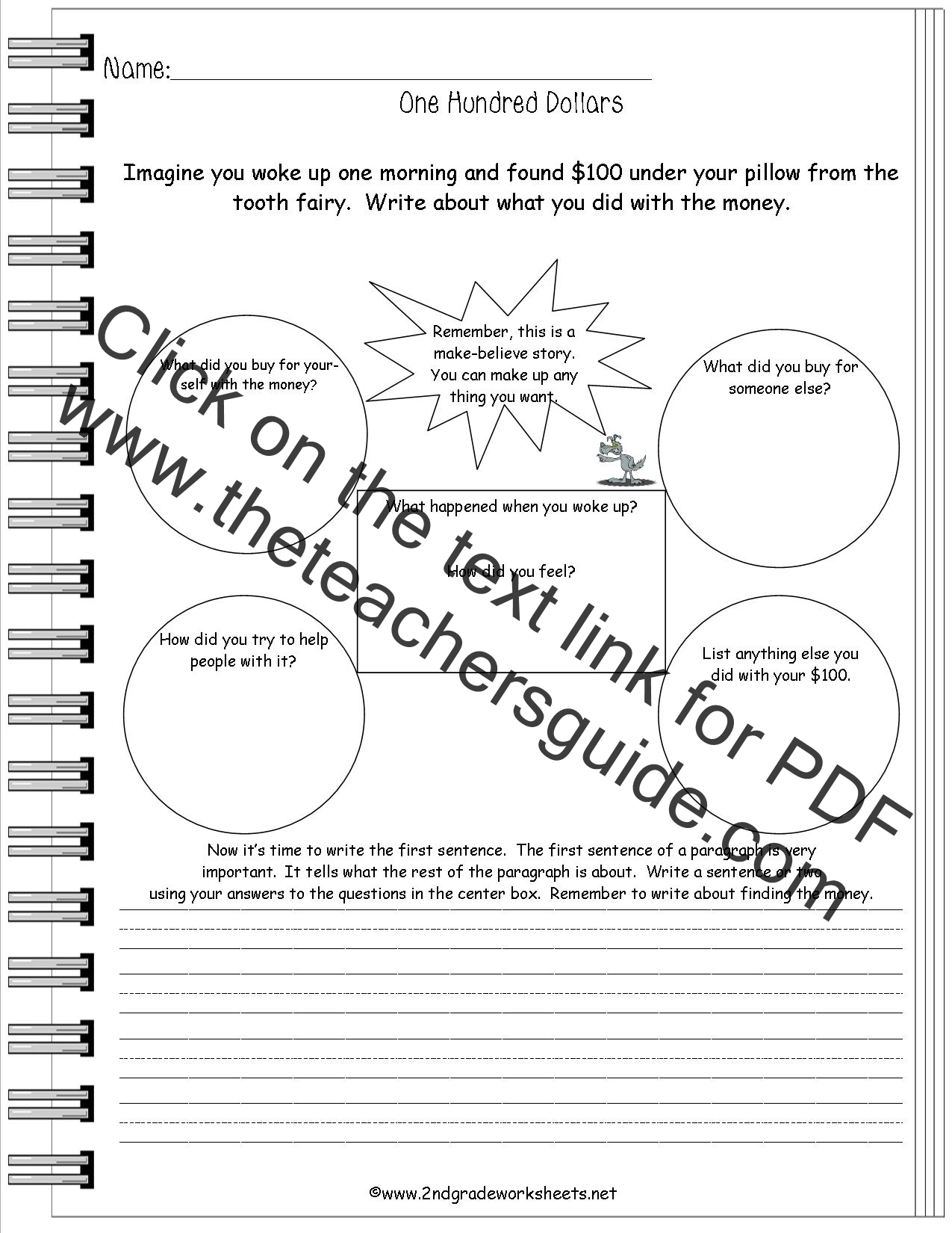 100th Day Worksheet For 1st Grade