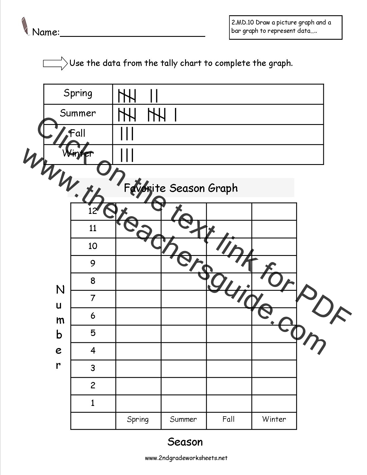 Free Reading And Creating Bar Graph Worksheets