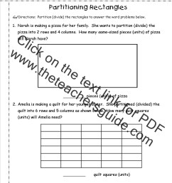 Equal Shares Worksheets   Printable Worksheets and Activities for Teachers [ 1650 x 1275 Pixel ]