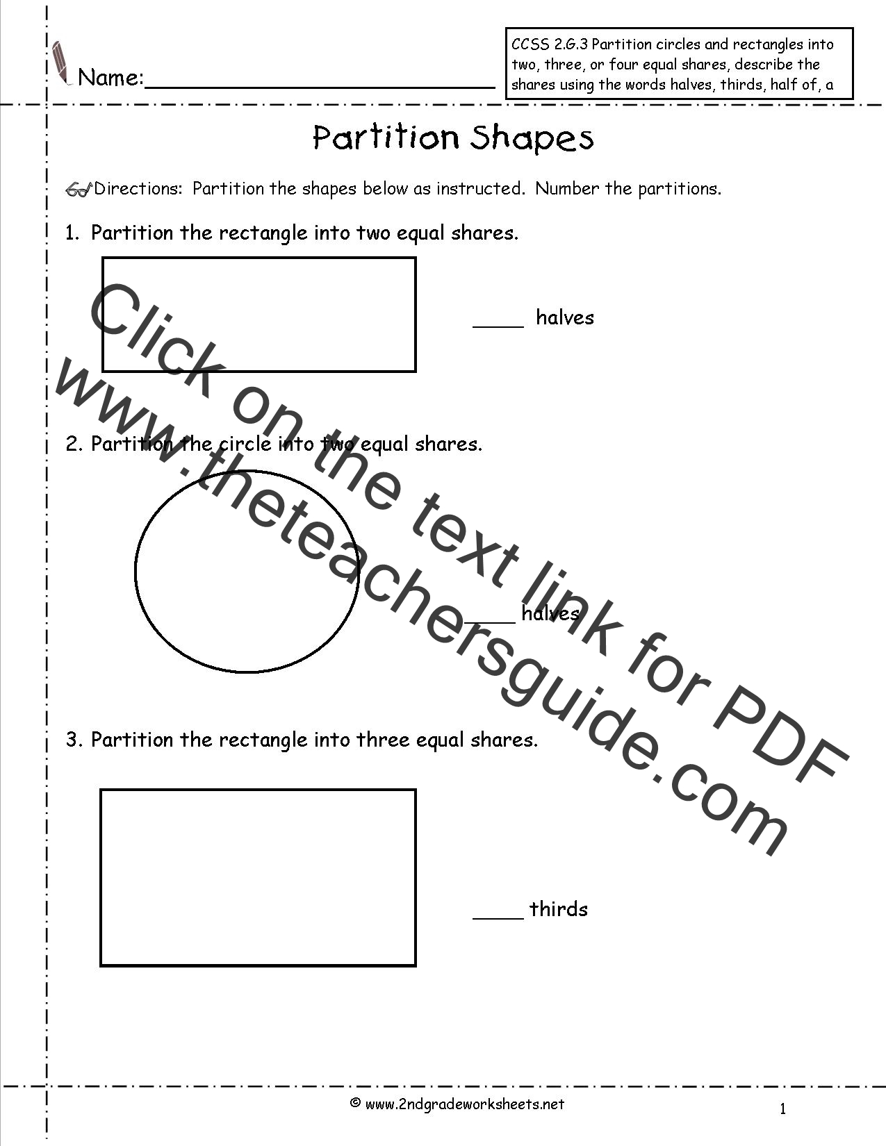 Common Core Standards Mathematics Worksheet 7th Grade