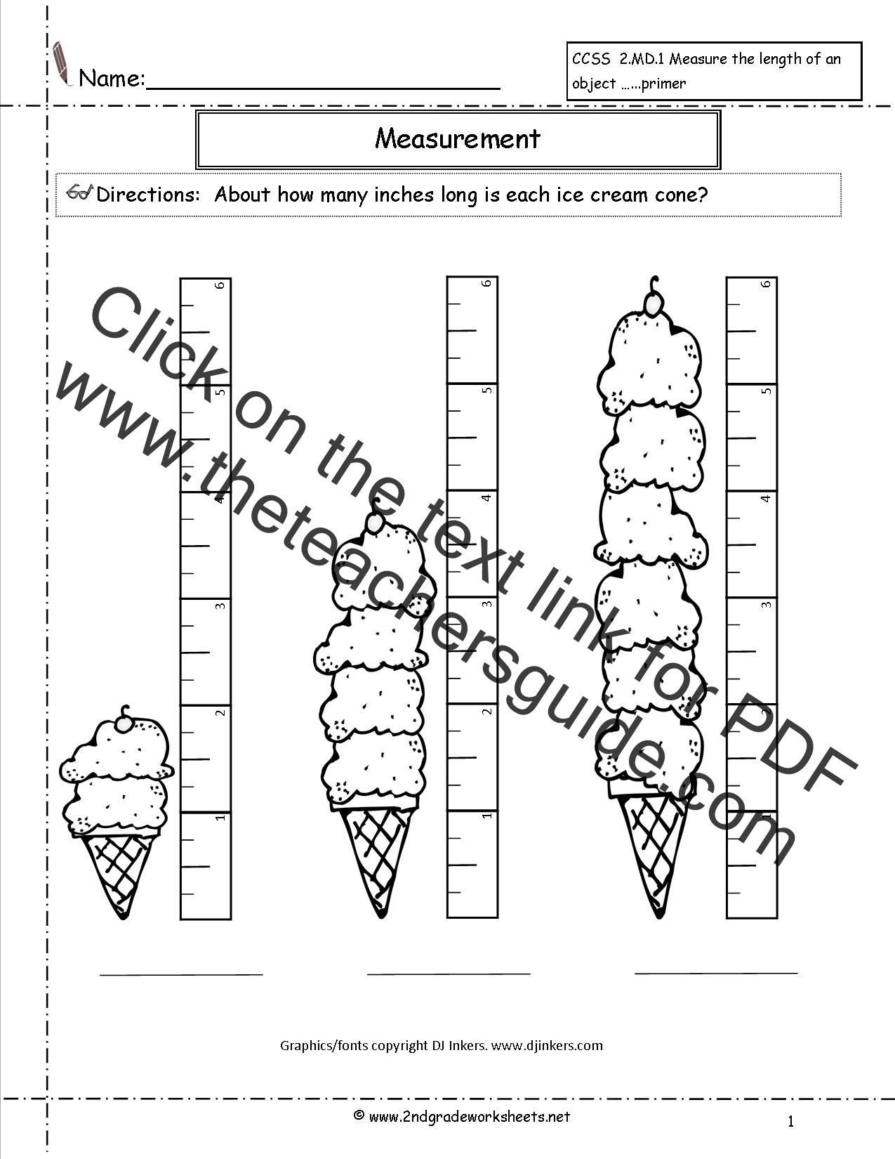 Worksheet Measuring In Inches Worksheet Grass Fedjp