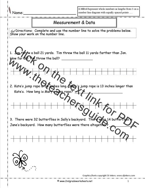small resolution of CCSS 2.MD.6 Worksheets