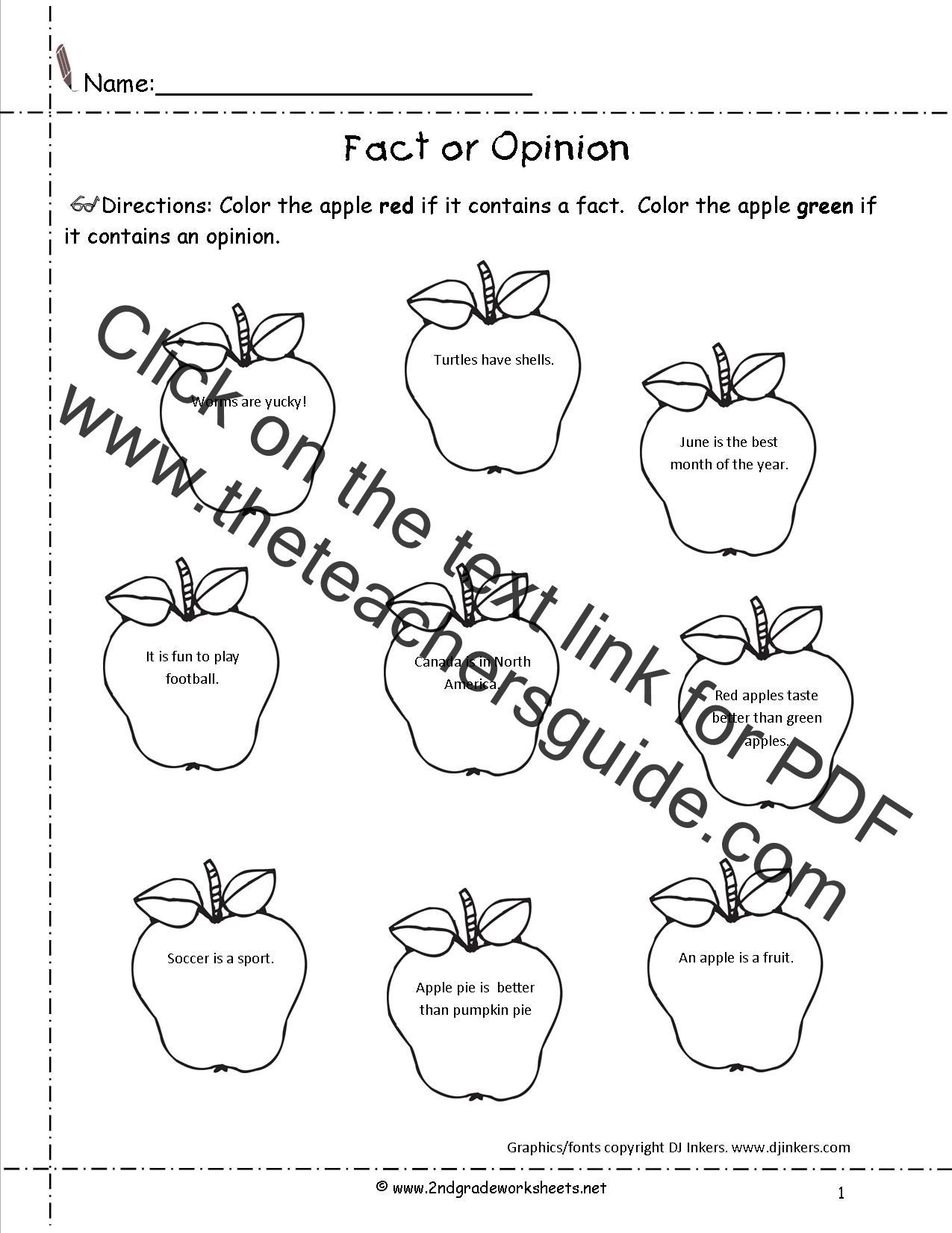 hight resolution of CCSS.ELA-Literacy.W.2.1 Worksheets