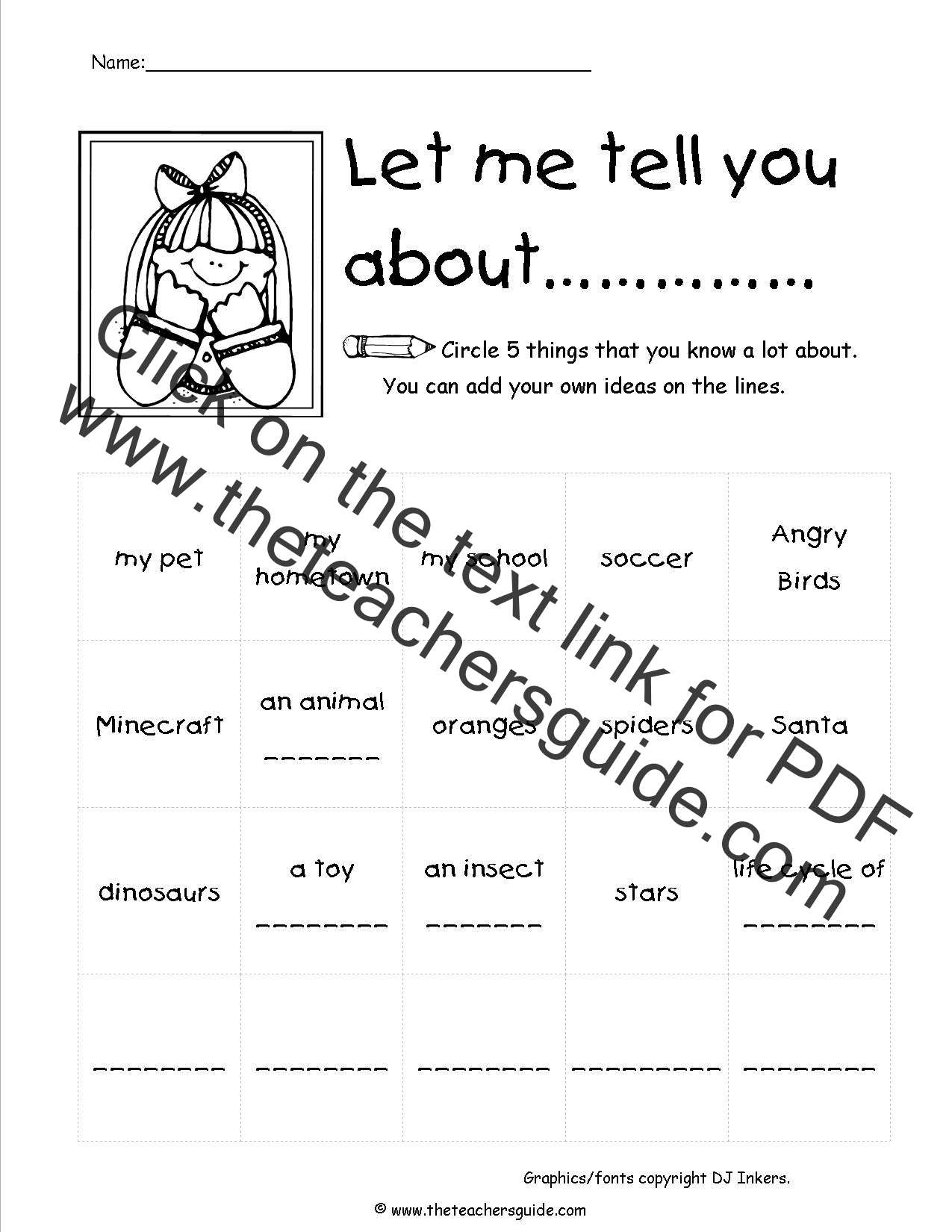 CCSS.ELA-Literacy.W.2.2 Worksheets