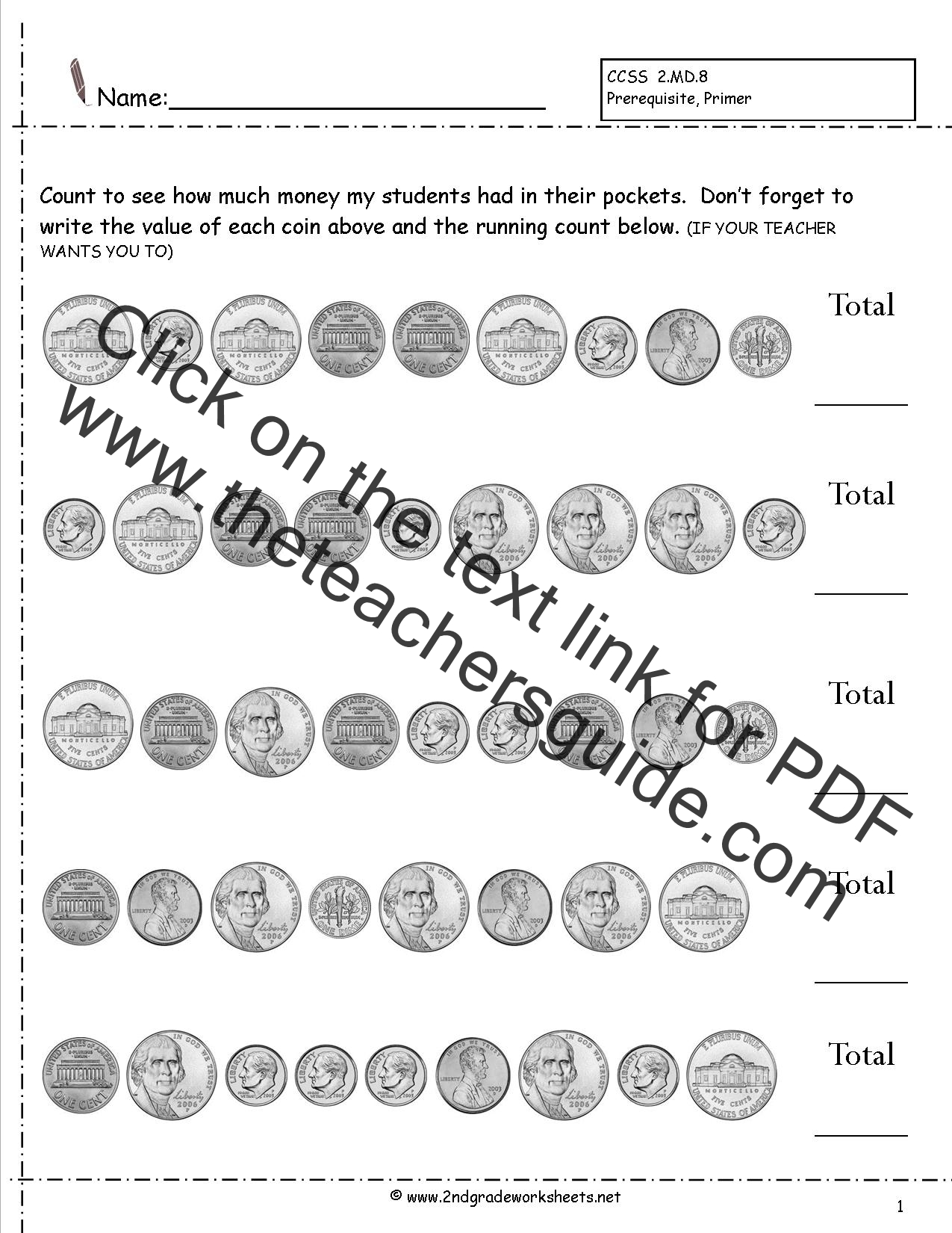 Common Core Worksheets For 2nd Grade