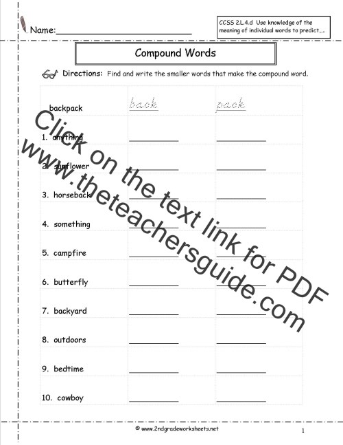small resolution of Free Language/Grammar Worksheets and Printouts