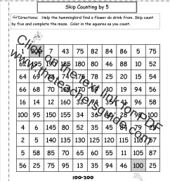 Free Skip Counting Worksheets [ 1650 x 1275 Pixel ]