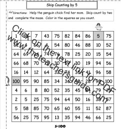 Free Skip Counting Worksheets [ 1650 x 1275 Pixel ]