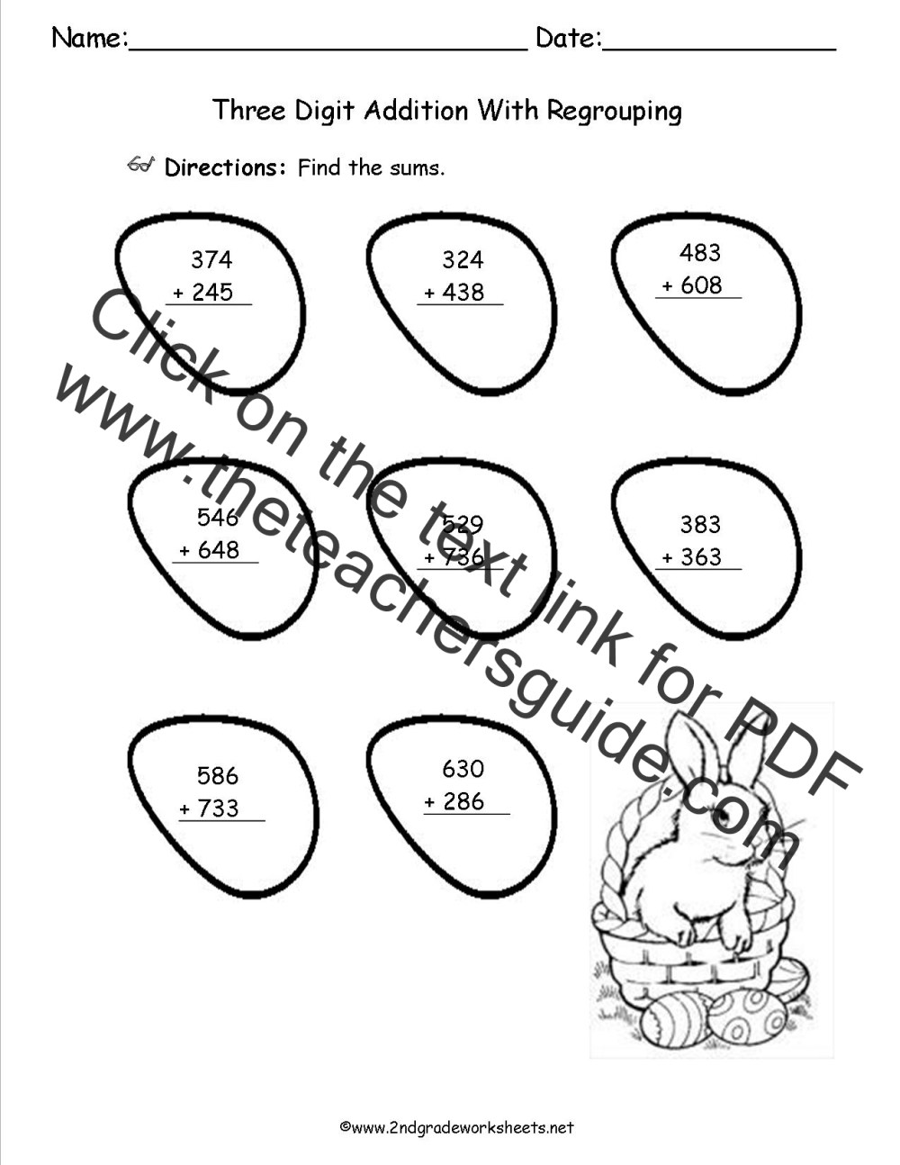 medium resolution of Easter Worksheets and Printouts