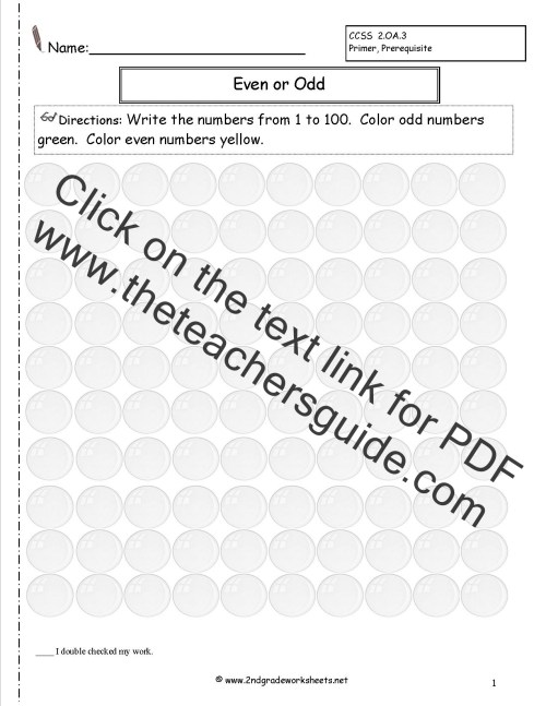 small resolution of Free Math Worksheets and Printouts