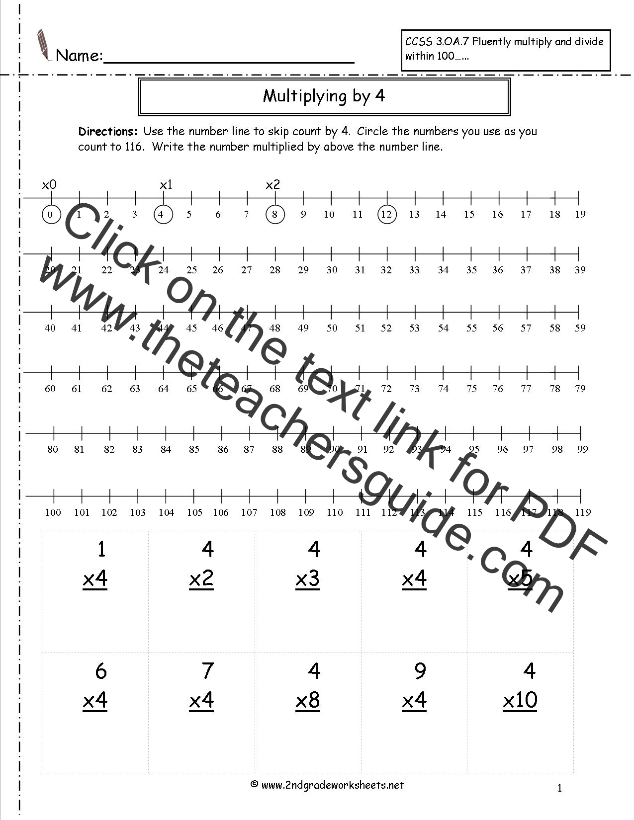 Mutiplication And Division Integers Mixed Worksheet
