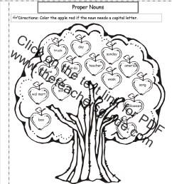 Common and Proper Nouns Worksheet [ 1650 x 1275 Pixel ]
