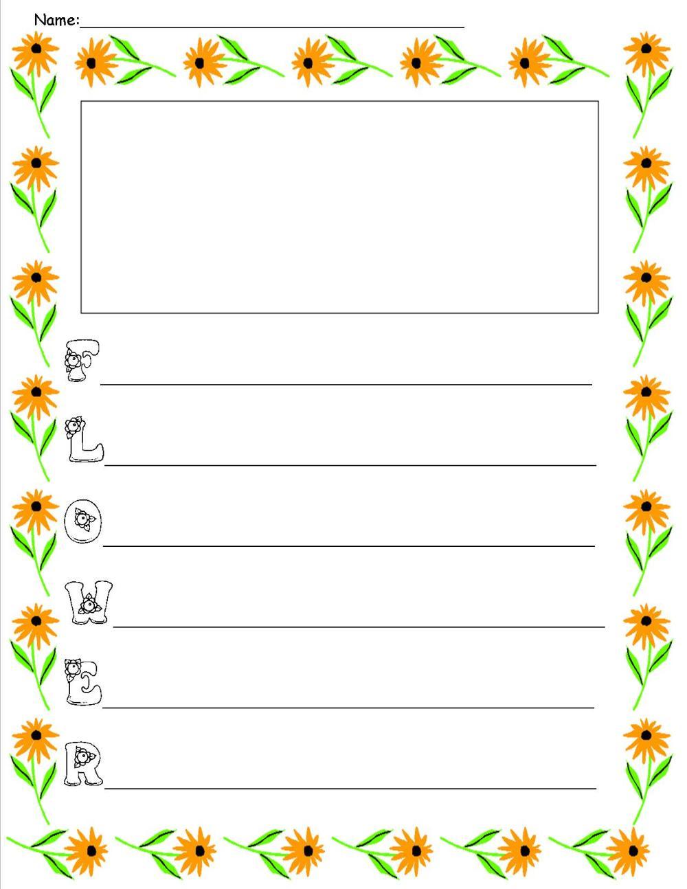 medium resolution of Acrostic Poem Forms