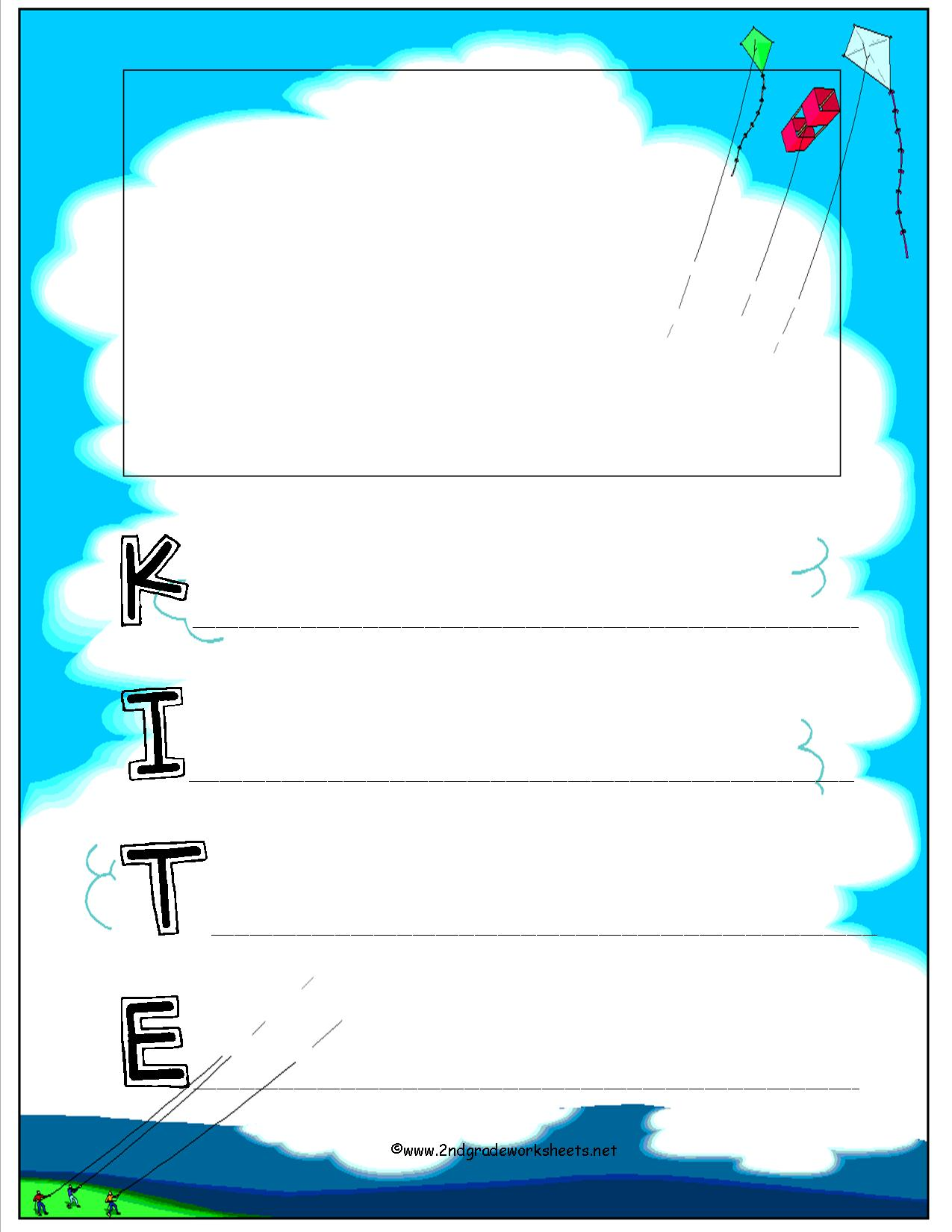 Join Kites Worksheet