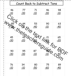 Two Digit Subtraction Worksheets [ 1650 x 1275 Pixel ]