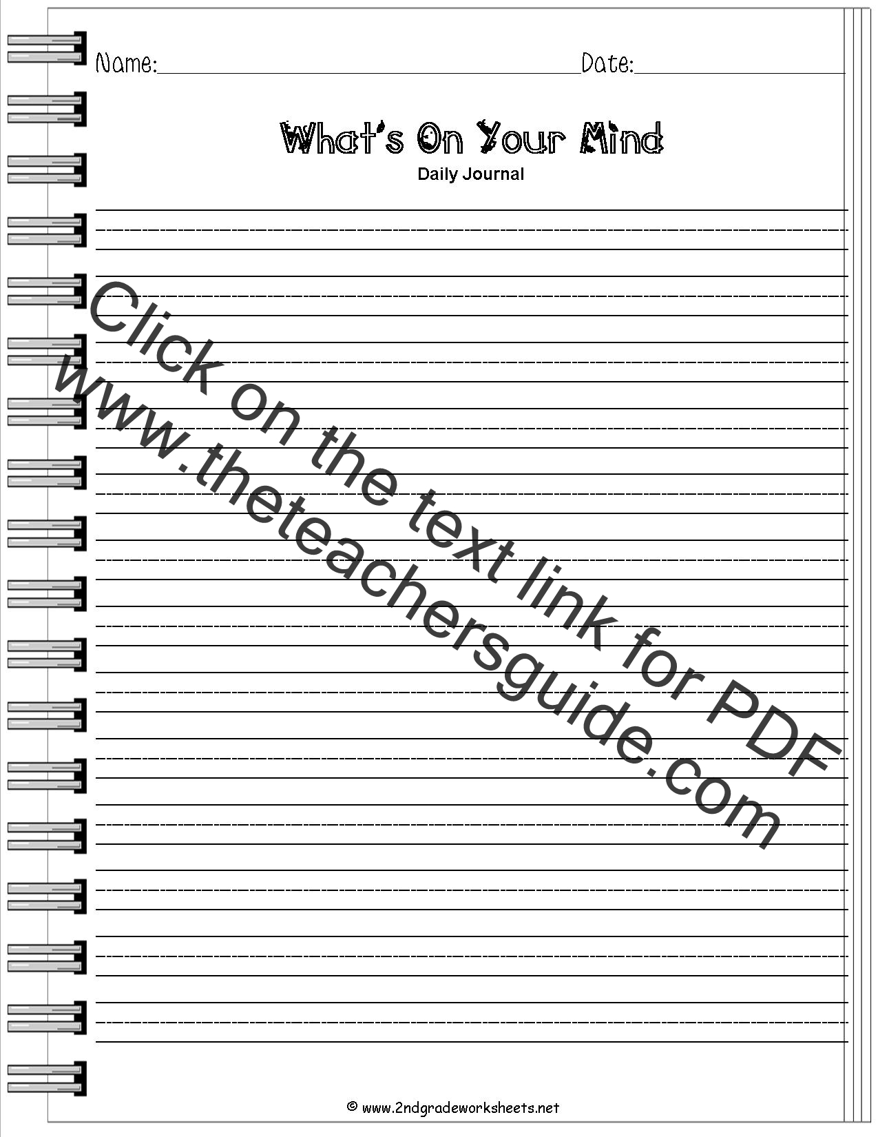 Worksheet 2nd Grade Writing Prompts Worksheets Grass Fedjp Worksheet Study Site