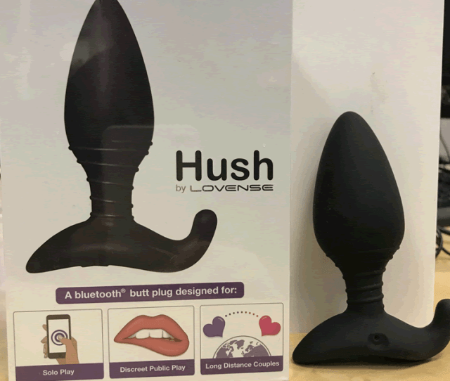 Without A Pin Or Password Access Was Immediate And It Wasnt Just The Hush Butt Plug