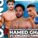 Vincenzo Finiello affronta Hamed Ghaz per l'Intercontinentale IBO