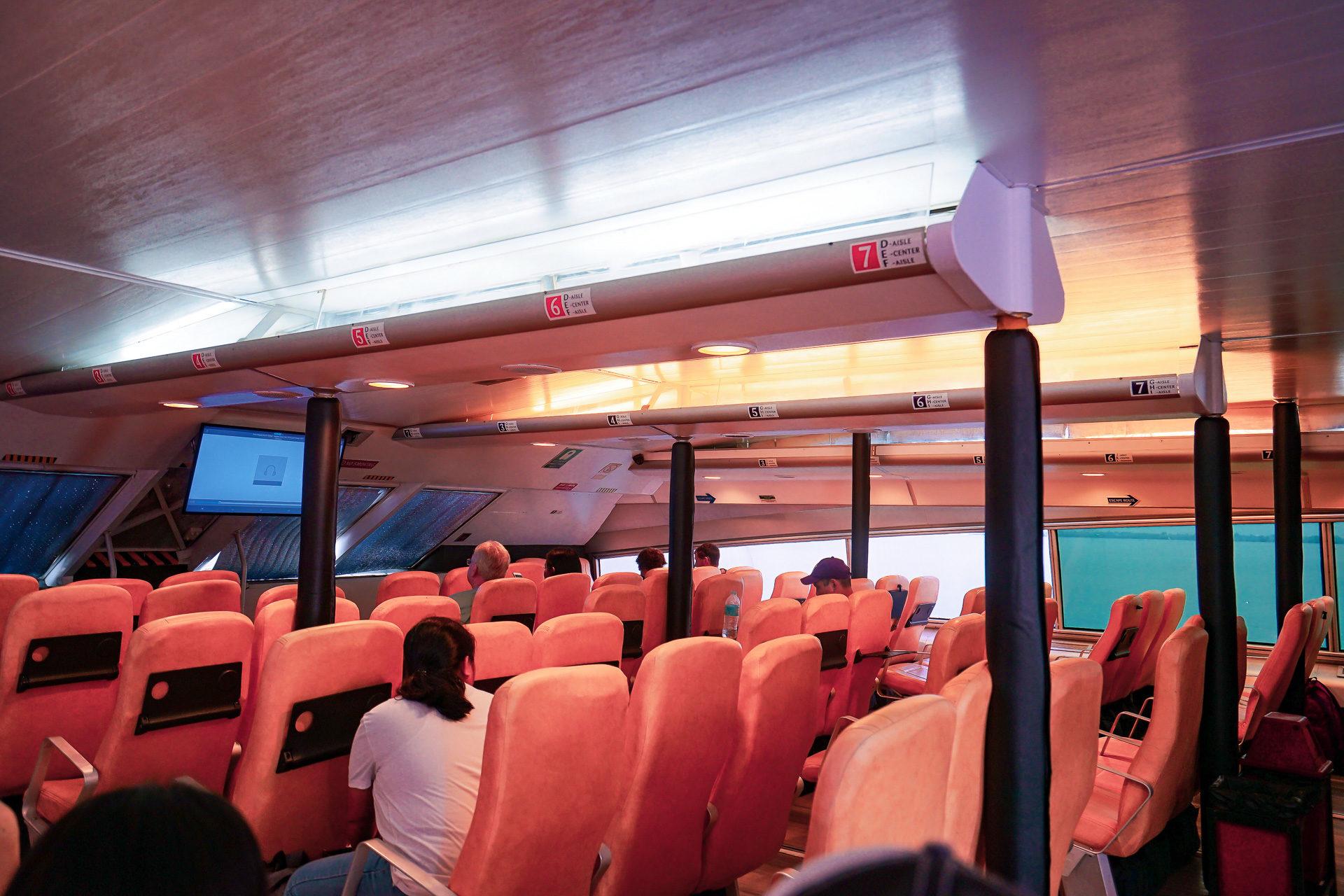 阿波島怎麼去》薄荷島出發杜馬蓋地 (交通,票價,螃蟹船湊船)搭乘紀錄