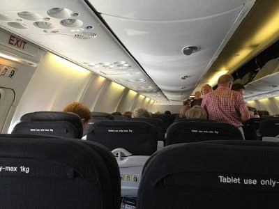 Qantas refurbishes 737-800 and installs the worlds smallest airline toilet cubicles