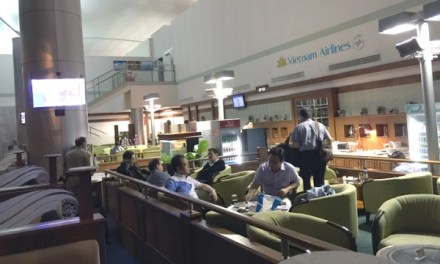 What should an airport lounge be all about? Vietnam Airlines Lounge – Saigon