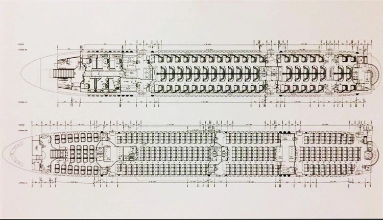 More Images – Singapore A380 leaked seat plan