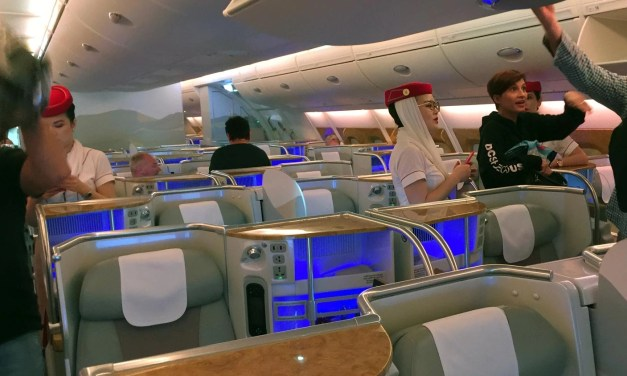 Emirates A380 Business Class – Sydney to Bangkok