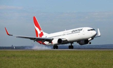 Live blogging from a Qantas 737!