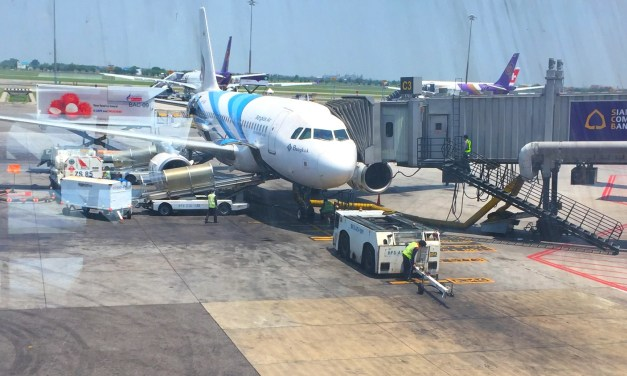 Bangkok Airways 707 – Bangkok to Yangon – Economy