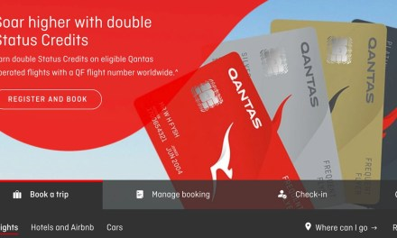 Double Trouble – Qantas double status credits 2019