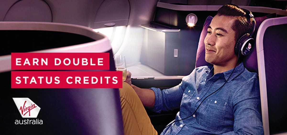 Virgin Australia: Double Trouble on status credits