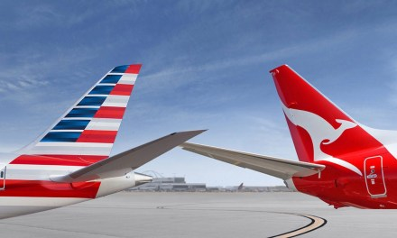 Qantas status credits double for American Airlines flights
