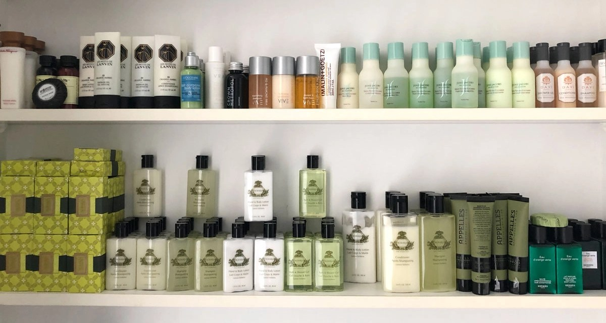 California bans plastic single-use hotel toiletries