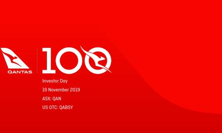Qantas: Investor Day Presentation 2019  #1