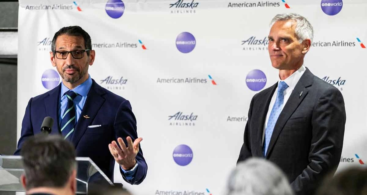 OneWorld: Alaska airlines to join OneWorld Alliance