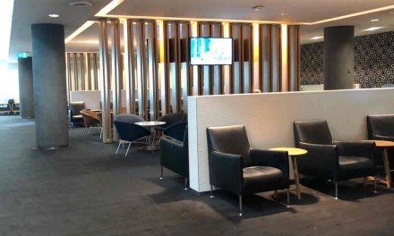Qantas: Sydney Business Lounge, about 75% down on usual. American Airlines cancels flights