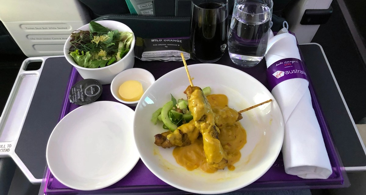 Virgin Australia: Catering cutbacks, COVID-19 related