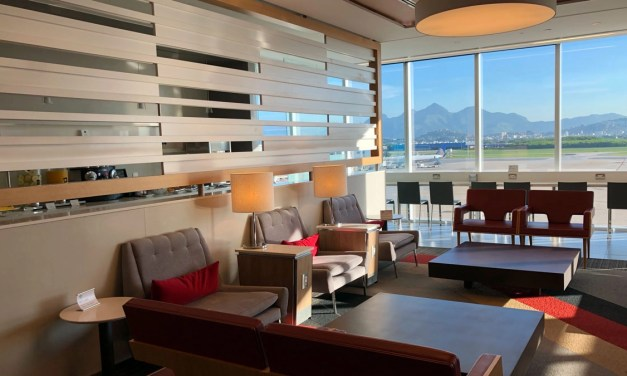 REVIEW: Admirals Club Rio Airport