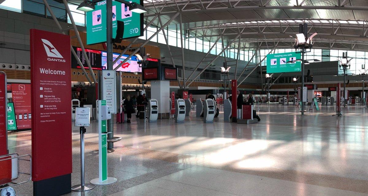 COVID-19: Review – Qantas domestic economy SYD-ADL