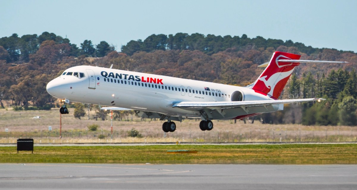 Qantas: New route – Canberra to Gold Coast, because COVID-19