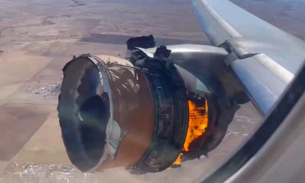 BOEING: Suspends flights of 777s with the Pratt & Whitney 4000 – the engine that blew up out of Denver yesterday