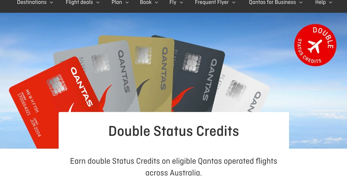 Qantas: You have 5 Days! Double Status Credits Promo ends 30 March 2021