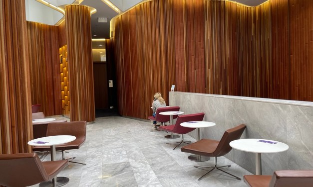Lounge Review: Virgin, Melbourne's The Club